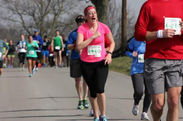 "Uhh. Race photos - who really knows what is happening in them. I guess I was ""wink wink - nudge nudgeing"" the photographer. Credit to ""Novice Photo Guy"" who was just testing his camera. Great work!"