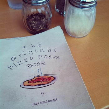 I wasn't kidding. Pizza Poems are a real thing.
